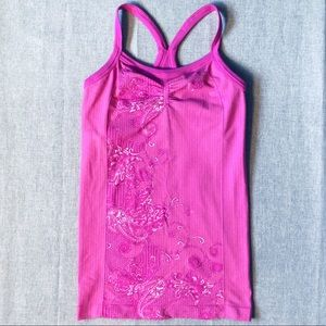 ATHLETA | Seamless Fortitude Tank Pink
